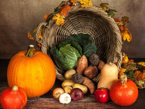 Verschiedene Gemüse für eine gesunde Ernährung