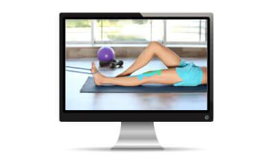 Videosprechstunde Physiotherapie per Monitor