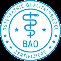 Bundesarbeitsgemeinschaft Osteopathie e. V.-Qualitätssiegel